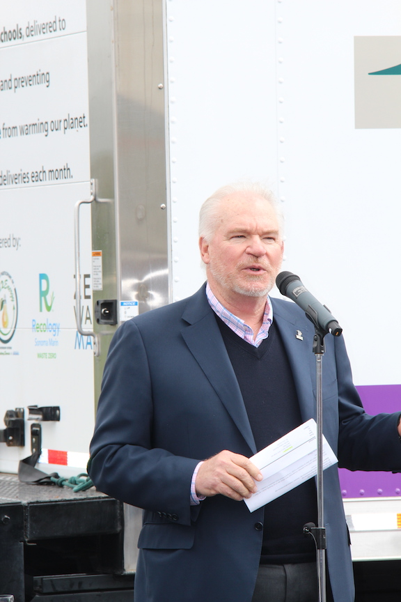 Video and Photos: ExtraFood's Refrigerated Truck Launch